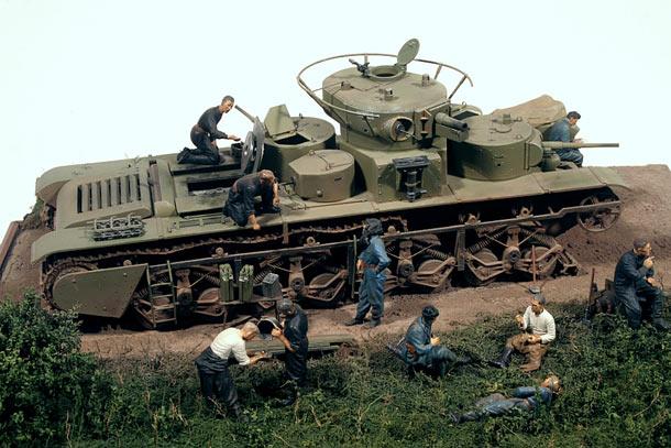Русские танки №18 - Т-35 - Страница 14 • Форум о журнальных ...