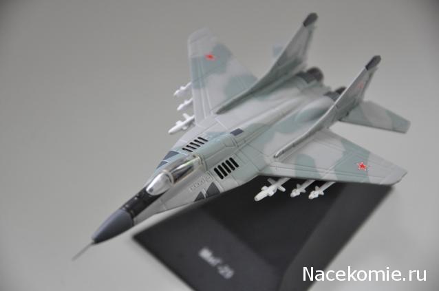 Легендарные самолеты №76 МиГ-29МС  - фото модели, обсуждение