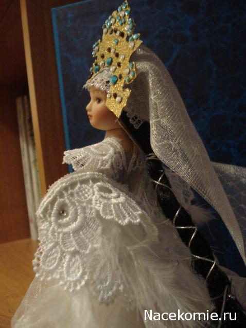 Корона принцесса лебедь своими руками 48