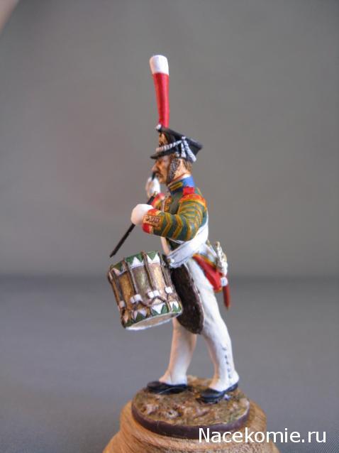 Наполеоновские войны №79 Барабанщик Симбирского пехотного полка, 1812 г.