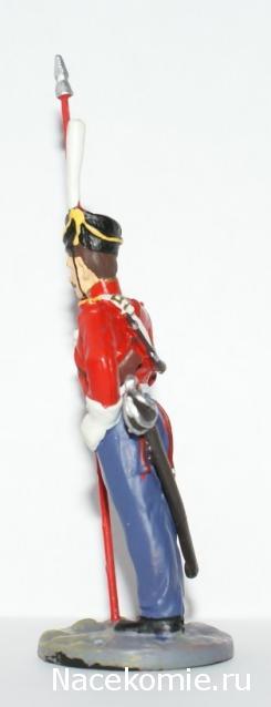 Наполеоновские Войны №7 Казак лейб-гвардии Казачьего полка, 1812г. Фото, обсуждение