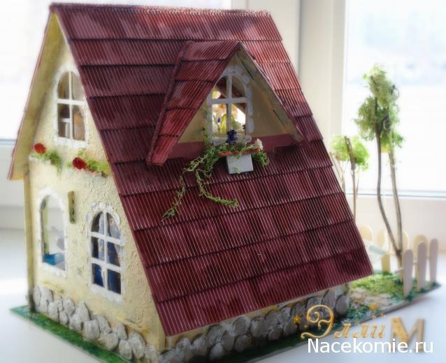 Кукольные домики своими руками фото из картона