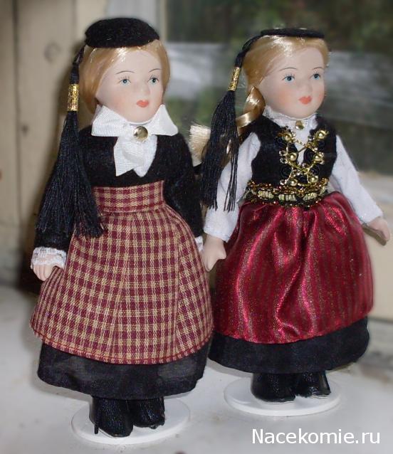 Куклы в Костюмах Народов Мира №37 - Исландия