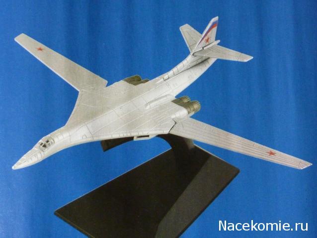 Легендарные самолеты №37 Ту-160  - фото модели, обсуждение