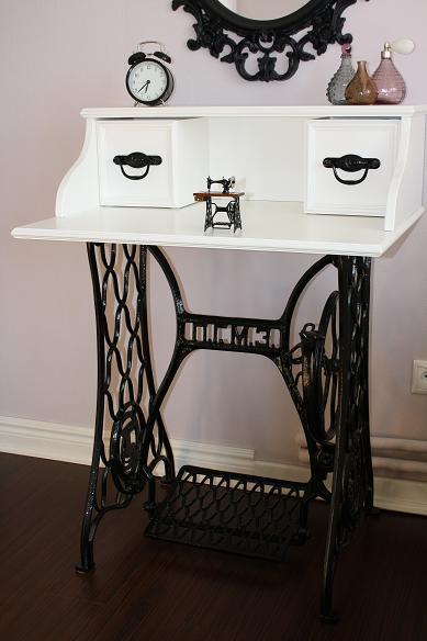 Столики из швейной машинки зингер антиквариат