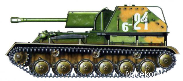 Русские танки №49 - СУ-76М