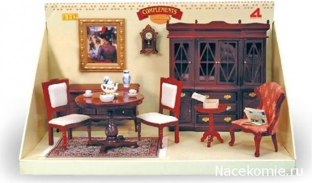 Мебель в гостиную для кукол своими руками 625