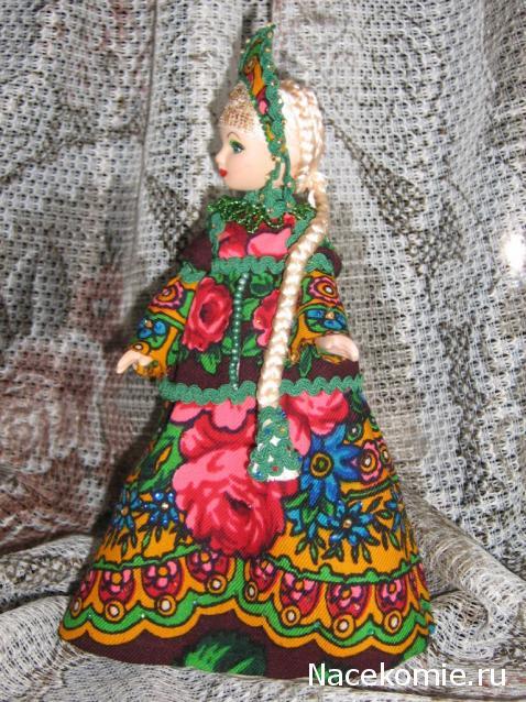 Платье на куклу своими руками народное