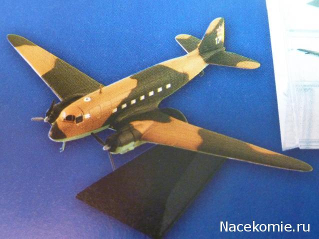 Легендарные самолеты №45 Ли-2  - фото модели, обсуждение