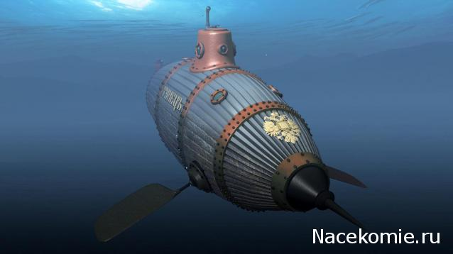 подводные лодки 19 века фото
