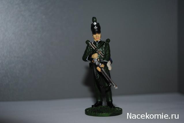 Наполеоновские войны №108 Гренадер Бутырского пехотного пока, 1812г.