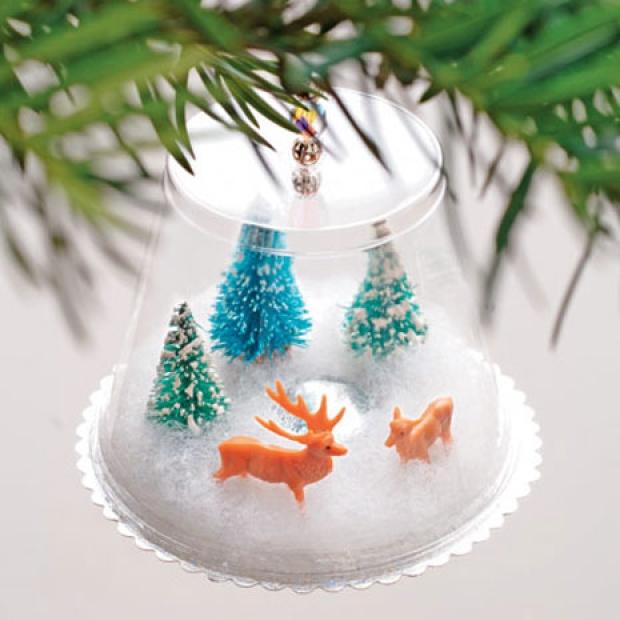 Поделки на новый год на елку своими руками фото