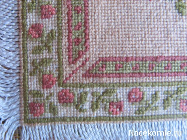 Микро крестик вышивки