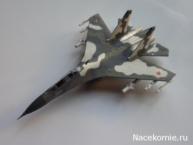 Легендарные самолеты №48 Су-30  - фото модели, обсуждение