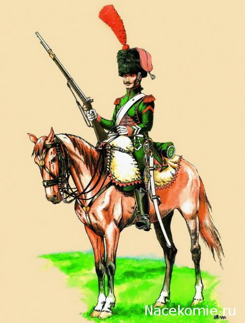 Великая армия 8 й конно егерский полк