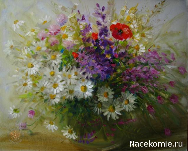 отдохнул полной полевые цветы на картинах художников названная