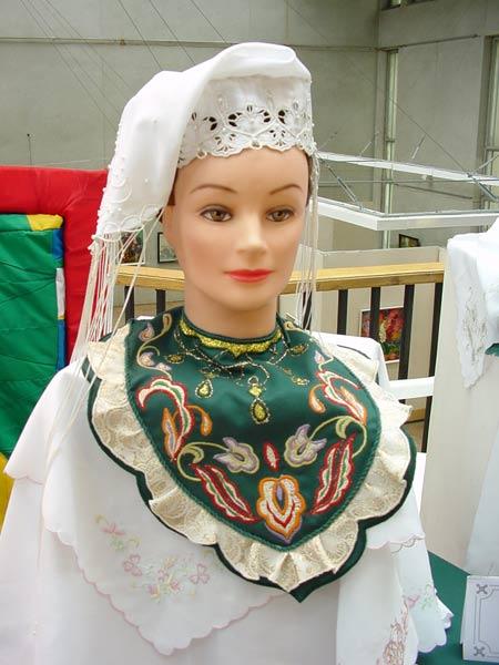 Как сшить татарское женское платье