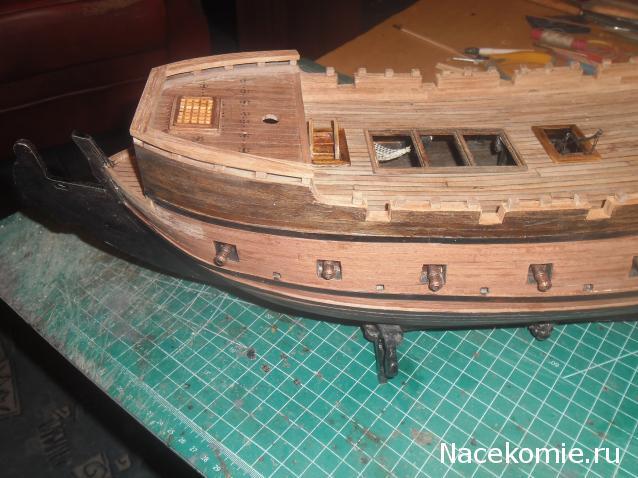 Корабль из дерева своими руками черная жемчужина 6