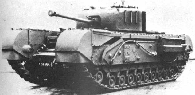 Трофейный танк черчилль в вермахте