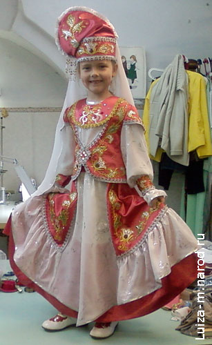 Картинки с татарскими платьями