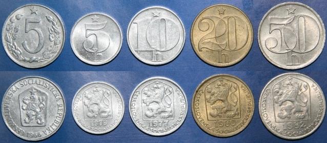 Монеты чехии фото наклейки гдр