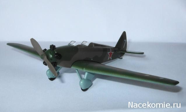 Легендарные самолеты №59 Ут-2 - фото модели, обсуждение