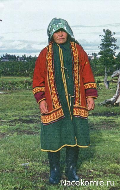 рисунки национальных костюмов хантов