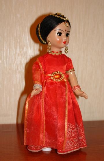 Куклы в народных костюмах Друзья детства