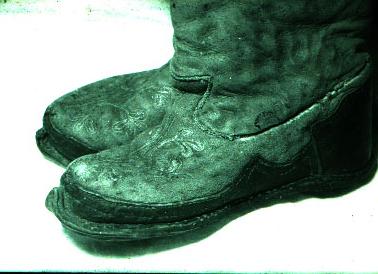 Хакасы Обувь Народный Костюм
