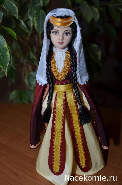 Кукла в грузинском костюме своими руками