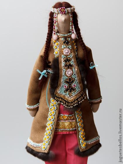 Куклы в народных костюмах 47 Кукла в эвенкийском зимнем костюме * Форум о журнальных коллекциях Деагостини, Ашет, Eaglemoss