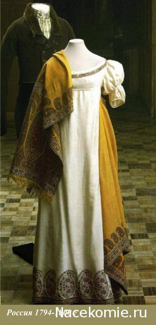 Женские платья начала 19 века