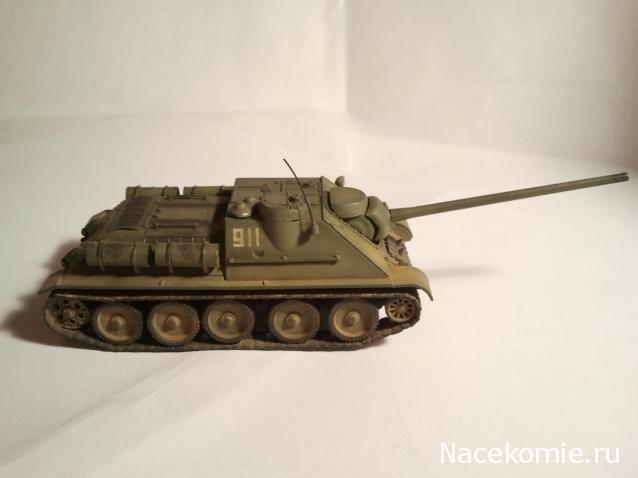 Русские танки №88 су 100 2014 01 11 21 06 08