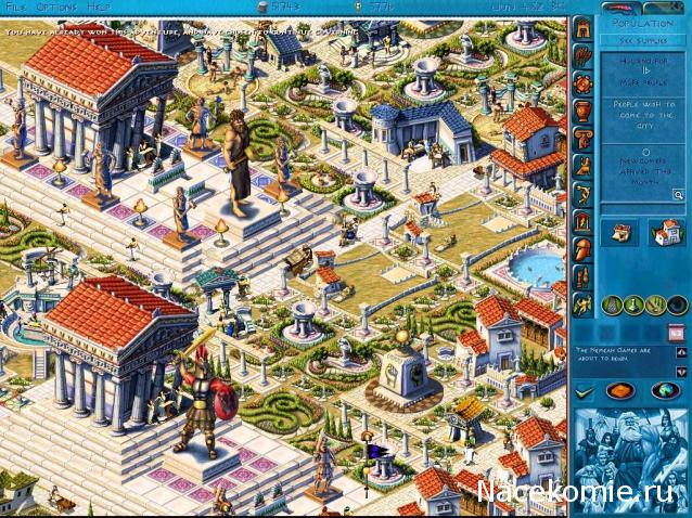 Скачать игру Зевс: Повелитель Олимпа / Zeus: Master of Olympus на ПК и ноут
