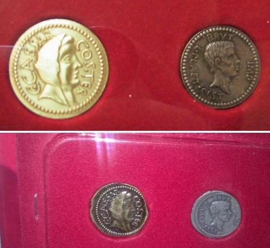 Монеты Великих империй - ДеАгостини - тест