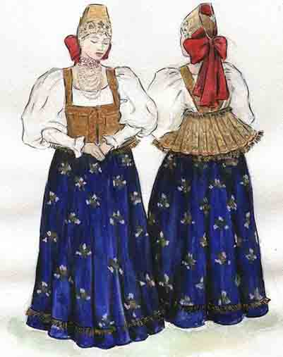 История блузки в нижнем новгороде