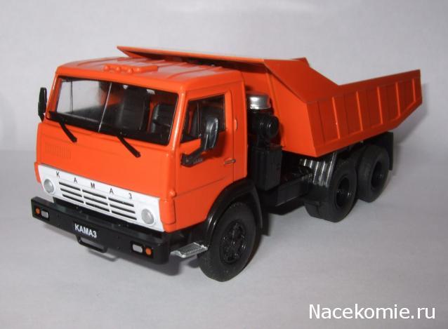 Автомобиль на Службе №70 КАМАЗ-5511 Строительный самосвал • Форум ...