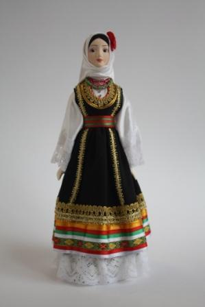 сербский национальный костюм фото