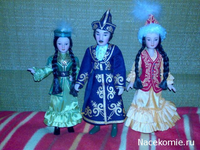 Куклы в национальных костюмах сшить казахских