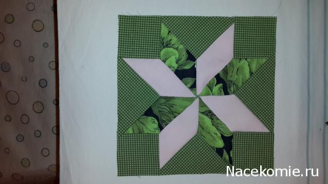 Лоскутное шитьё № 21: схема