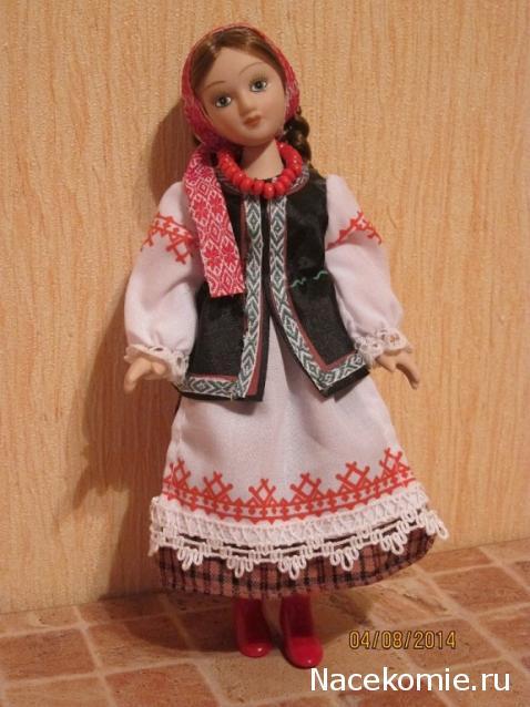 Кукла в национальном белорусском костюме своими руками