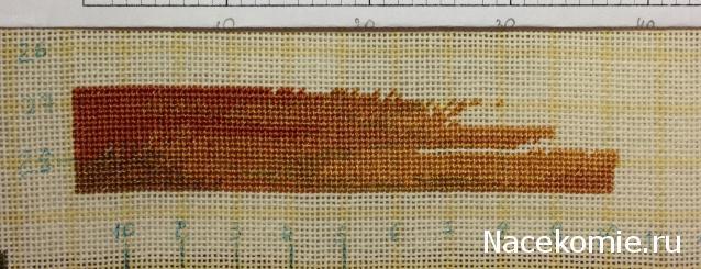 Канва для гобеленовой вышивки 22 с разметкой 34