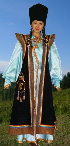 Как сшить алтайский национальный костюм 75