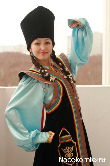 Как сшить алтайский национальный костюм 7