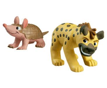 Животные Дикой Природы №11 - Гиена Гино и Детеныш Броненосца