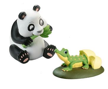 Животные Дикой Природы №10 - Самка Панды Мэй и Детеныш Крокодила