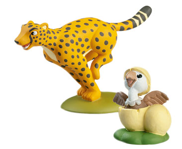 Животные Дикой Природы №9 - Гепард Гарри и Детеныш Грифа
