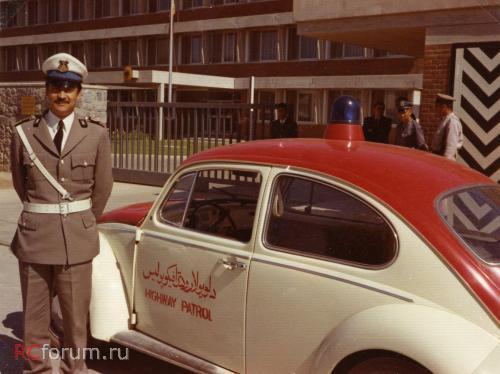 Полицейские Машины Мира №80 - Volkswagen beetle 1970