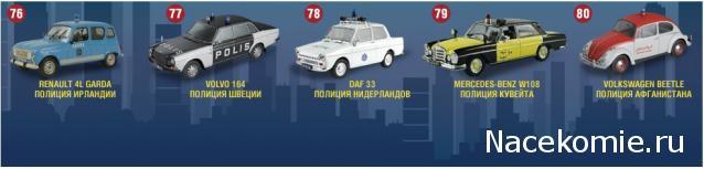Полицейские Машины Мира - График выхода и обсуждение