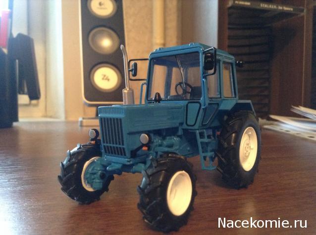 Масштабная модель МТЗ-82  Беларусь  - Тракторы